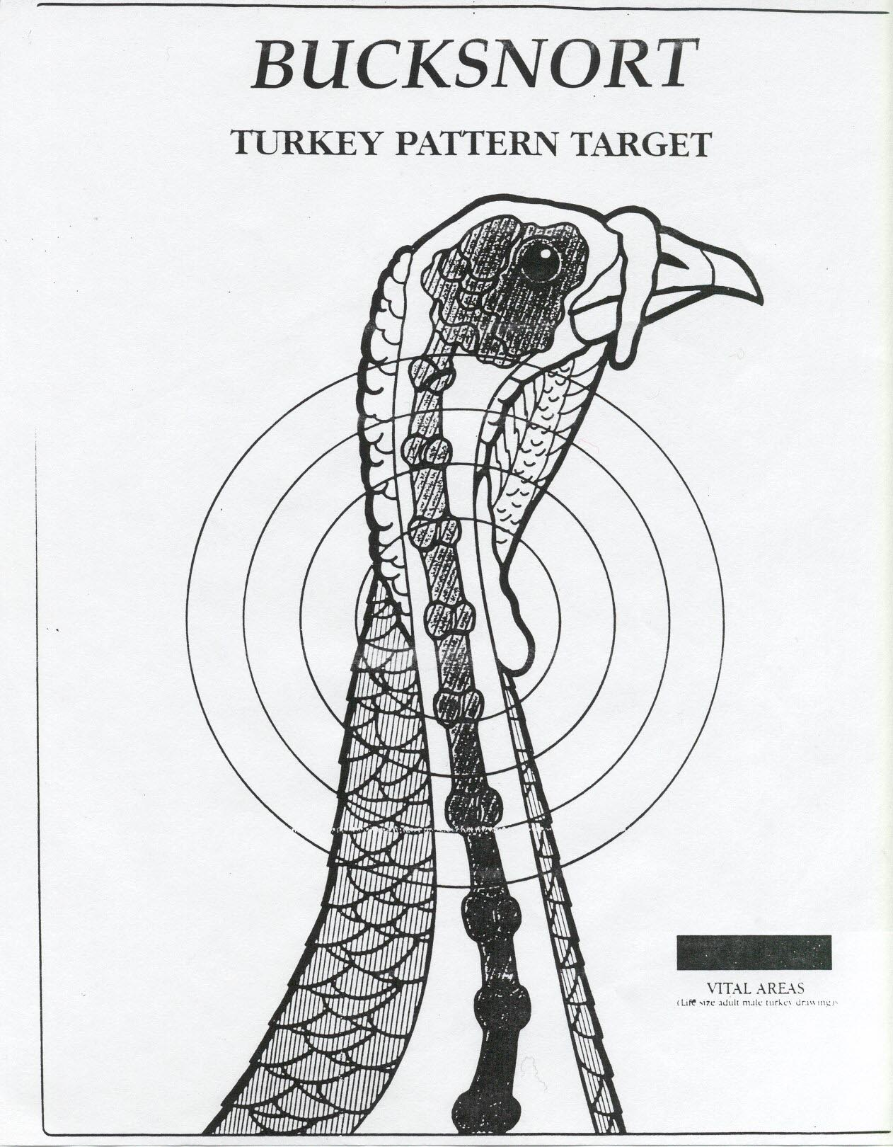 Downloadable Turkey Targets